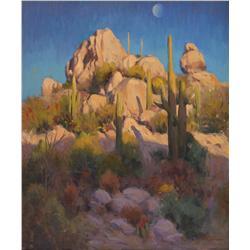 Phil Starke, oil on canvas