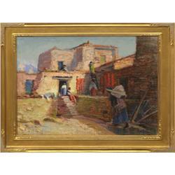 Arthur R. Best, oil on canvas/board