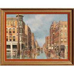 Carl Funseth, oil on canvas