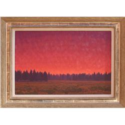 Dale Livezey, oil on canvas