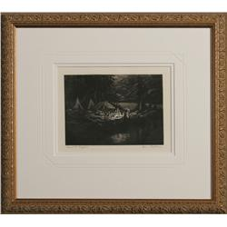 Hans Kleiber etching