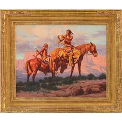 Paul Mann, oil on canvas