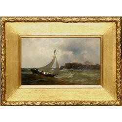 Thomas Moran, oil on canvas