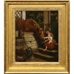 John N. Hess, oil on canvas