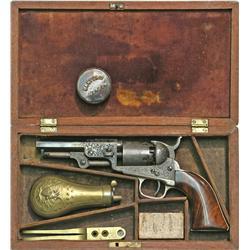 1849 pocket model pistol.