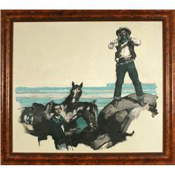 Saul Tepper, oil on canvas