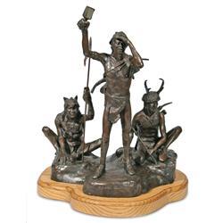 Robert Scriver, bronze sculpture