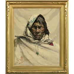 Eustace Ziegler, oil on canvas on board.