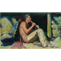 Gerard Curtis Delano, oil