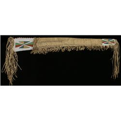Yanktonai Buffalo Hide Beaded Rifle Case