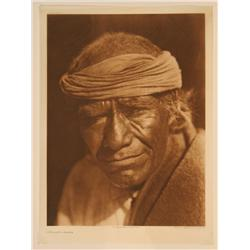 Edward S. Curtis  pair of photogravures