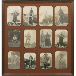Twelve Antique Photographs