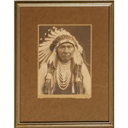 Edward S. Curtis, platinum photograph