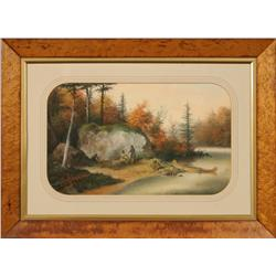 Alfred W. Holdstock, pastel