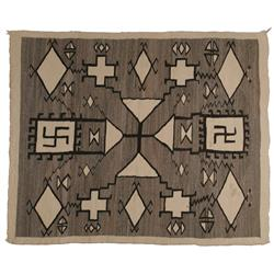 Navajo Weaving,Storm Pattern
