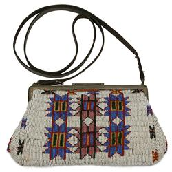 Sioux Fully Beaded Commercial Purse