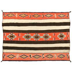 Late Classic Navajo Chief Blanket
