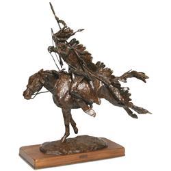 Harry Jackson bronze sculpture