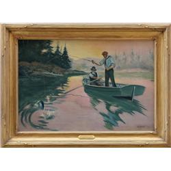 Joseph Knowles, oil on canvas
