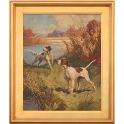 Henry Hintermeister, oil on canvas.