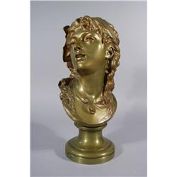 Auguste Rodin (French, 1840-1917) Suzon, Bronze,