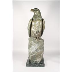 Laurence Isard (Cleveland, 1932-) Sentinel, Bronze.