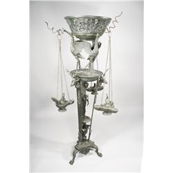 A 19th Century Italian bronze Grand Tour torchere,