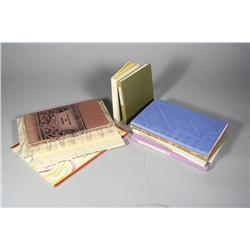 A collection of ten limited edition books pertaining to poetry,