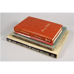 A group of four books by Henry Miller,