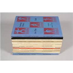 A collection of thirteen books from the Capra Chapbook Series and