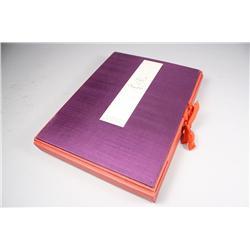 A Flight of Butterflies, hardbound accordion folded book, publish