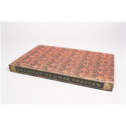 Rubáiyát of Omar Khayyám, hardbound book by Edward Fitzgerald.