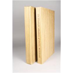Limited Editions Club Book, The Wonderful Adventure of Paul Bunya