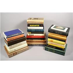 A collection of miscellaneous books.