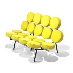 George Nelson & Associates Marshmallow sofa, model 5670