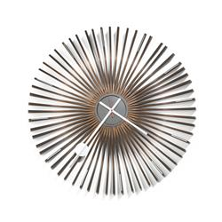 George Nelson & Associates Ribwood wall clock, model 2291