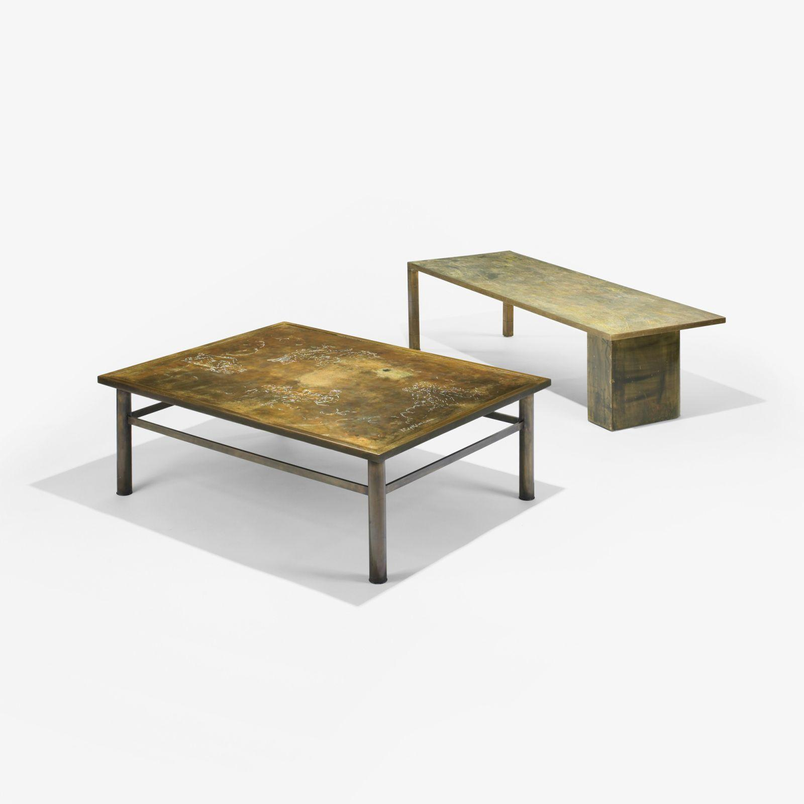 Philip Laverne Coffee Table.Philip And Kelvin Laverne Turtle Coffee Table