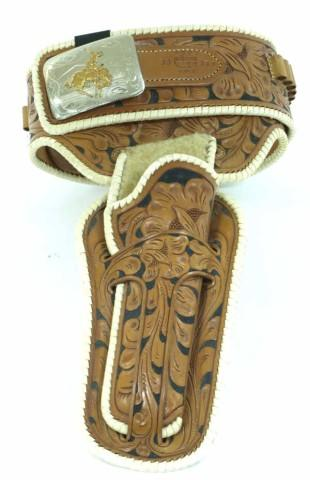 Mint 1950's Colorado Saddlery fleece lined holster