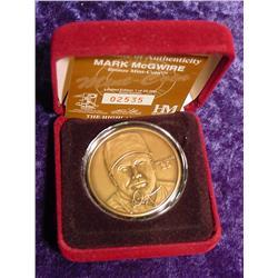 Mark McGwire Bronze Medallion