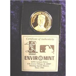 Enviromint Mark McGwire Medal.