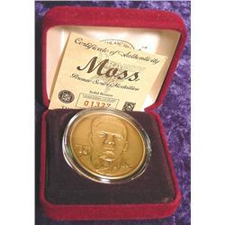 Randy Moss Bronze Series Medal