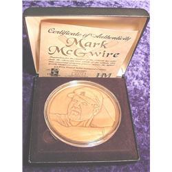 Mark McGwire 1/2 Troy Pound Co