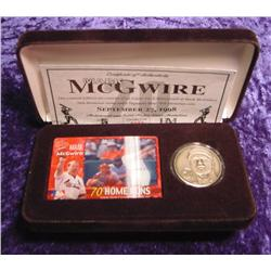 Mark McGwire Motion Card &