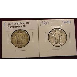 1917P T.1 G & 1920P G Quarters