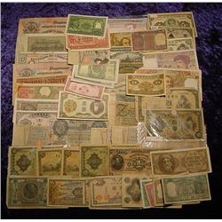 (65) pieces of Foreign Currency including
