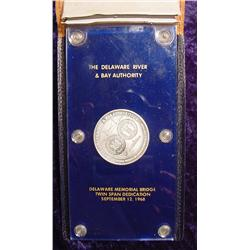 Sterling Silver Medal Commemorating the