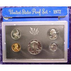 1972 S U.S. Proof Set. Nice Frosty Coins