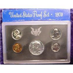 1970 S U.S. Proof Set. Nice Frosty Coins
