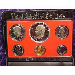 1974 S U.S. Proof Set. Nice Frosty Coins