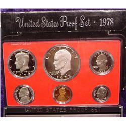 1978 S U.S. Proof Set. Nice Frosty Coins